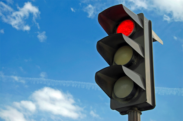 Nevada's Running a Red Light Traffic Laws