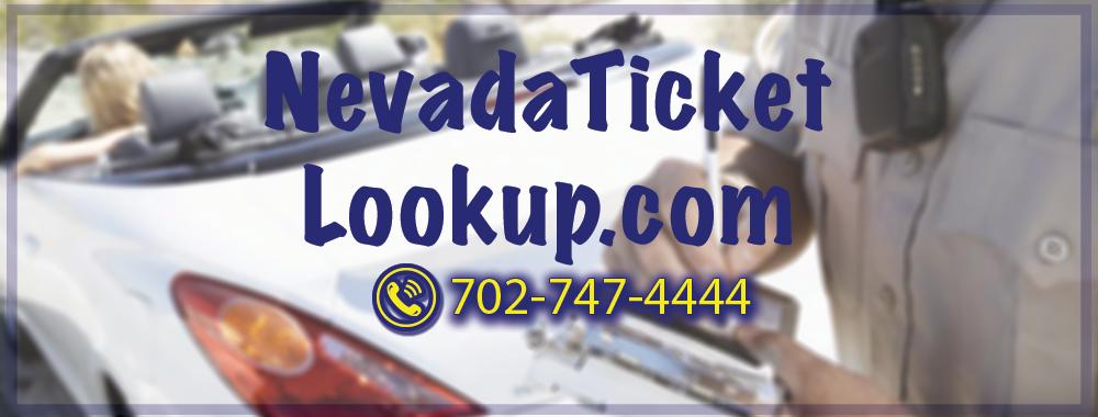 Nevada Ticket Lookup